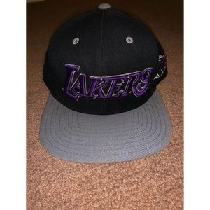 Los Angeles Laker SnapBack Hat Adidas